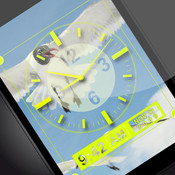 Clear Clock with Voice and Alarm